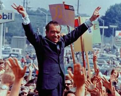 Nixon Now campaign theme